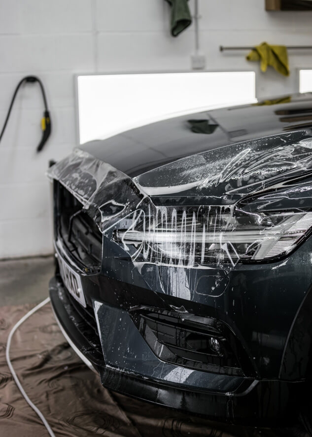 Volvo V60 PPF,Dechroming,Paintwork Protection