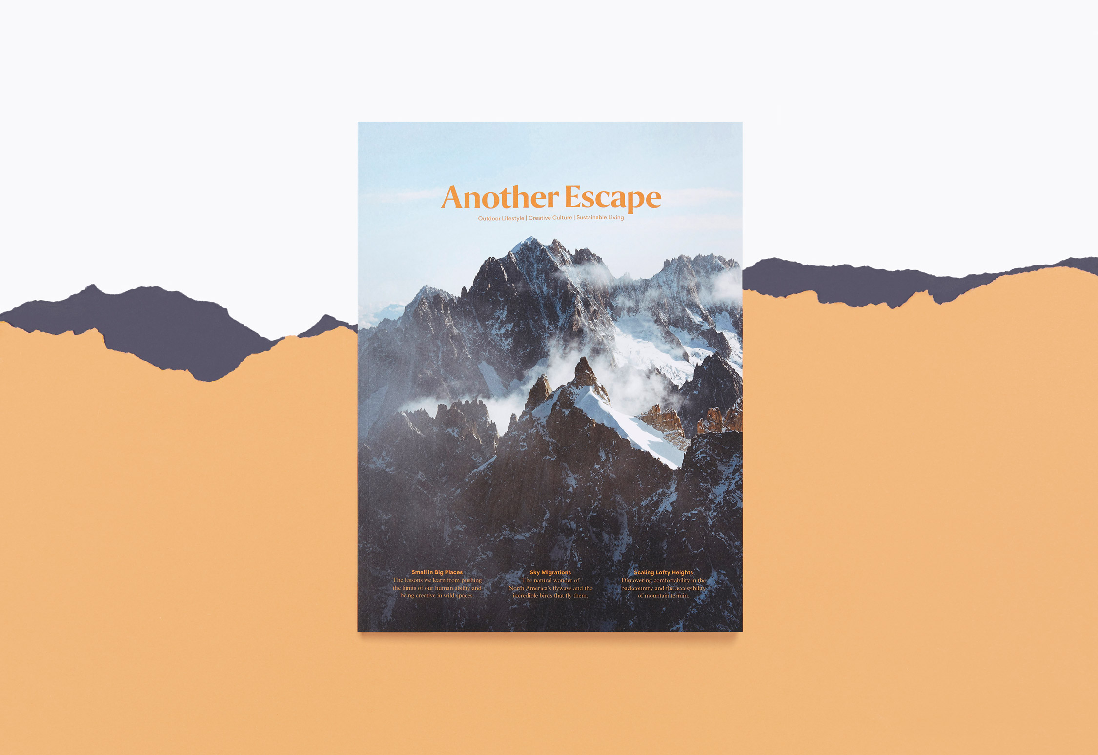 Another Escape magazine designed by She Was Only
