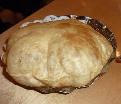 Sagar Batura bread