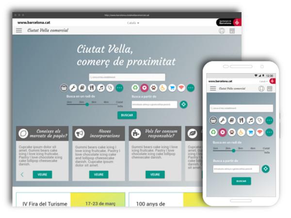 Web App Guia de Comerços