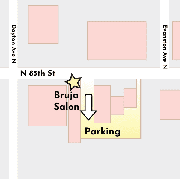 Directions to Bruja Salon on Google Maps