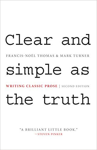 Clear and simple as the truth Book by Francis-Noël Thomas