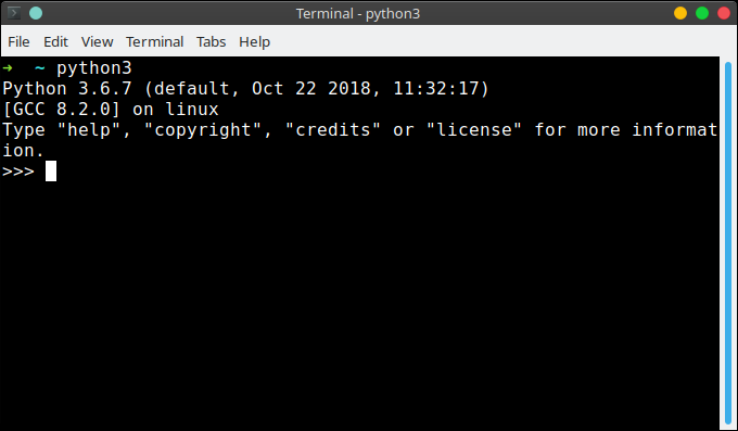 python interactive shell repl
