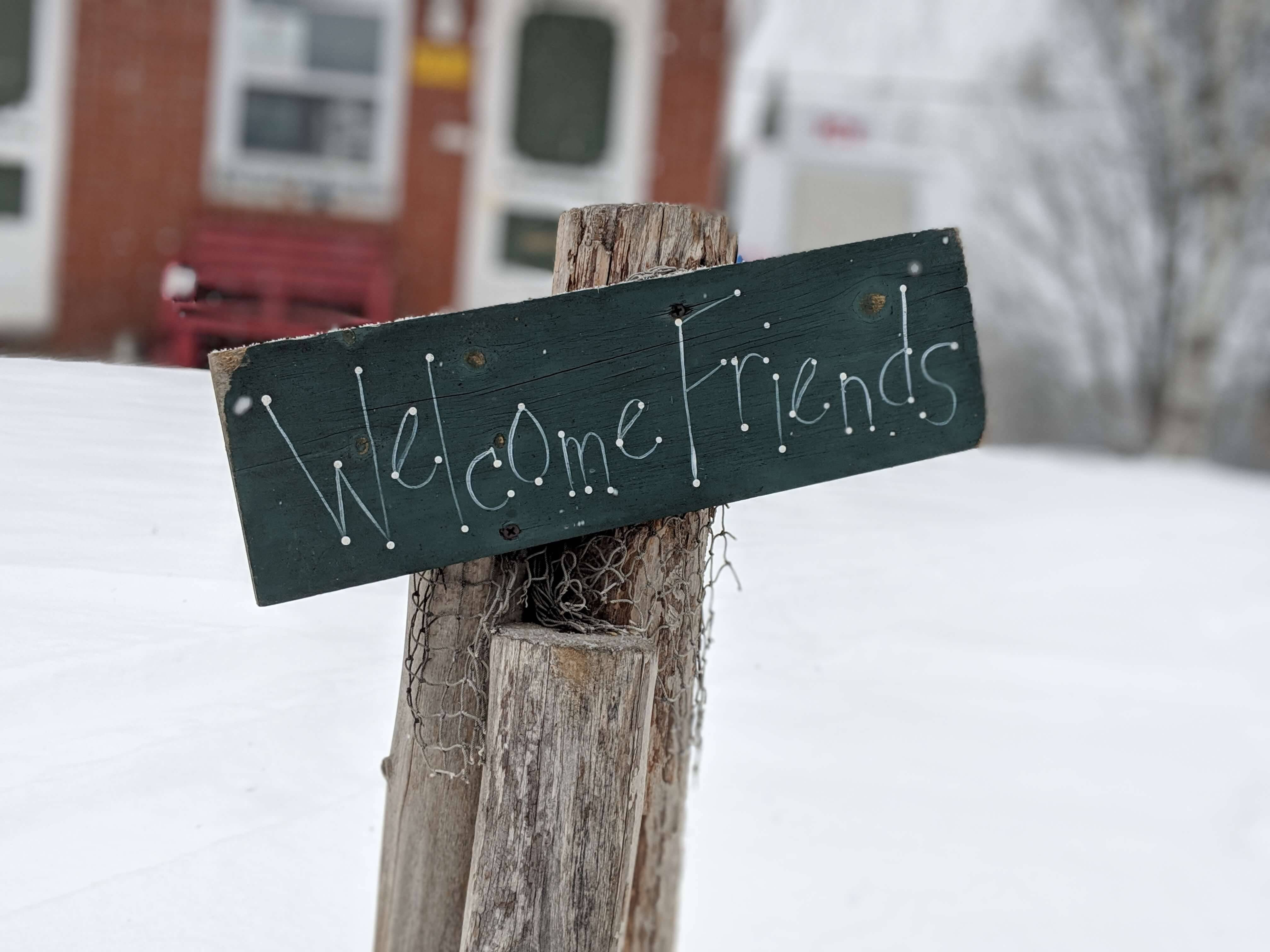 Welcome Friends Picture