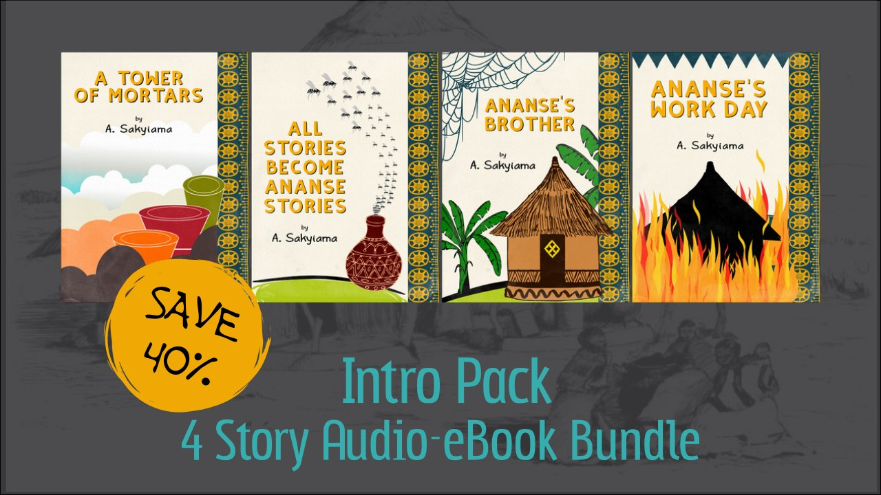 Intro Pack: 3 Story Audio-eBook Bundle