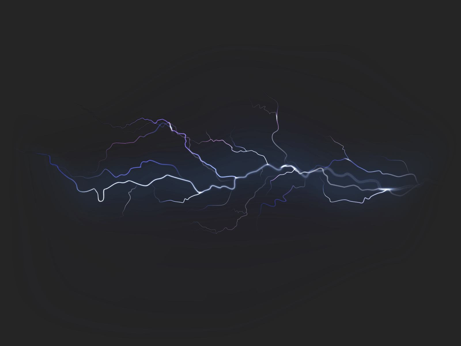 Picture of lightning.