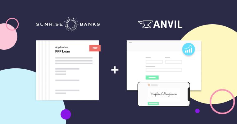 Sunrise and Anvil logos