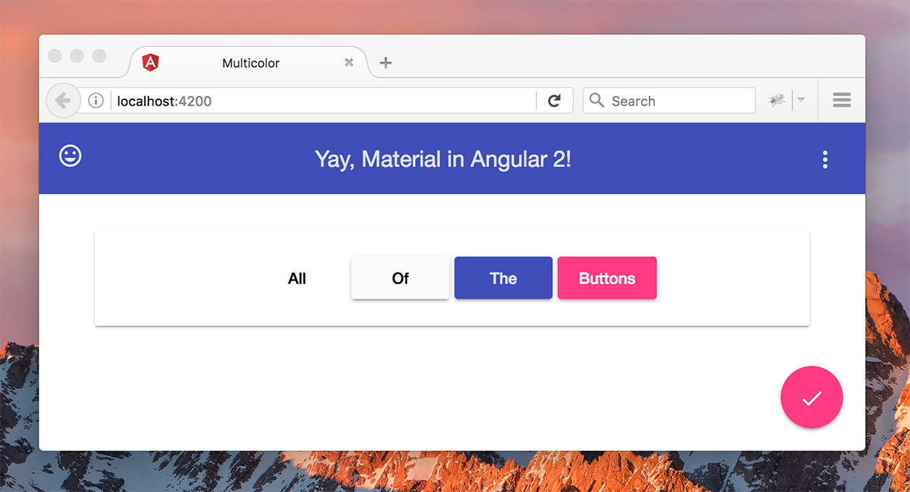Getting Started With Angular Material 2 ← Alligator io