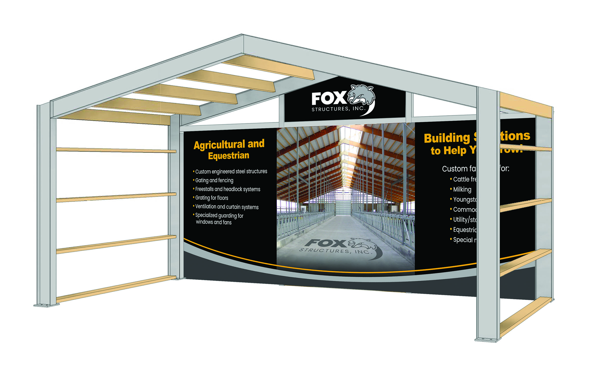 Fox Structures Tradeshow Booth