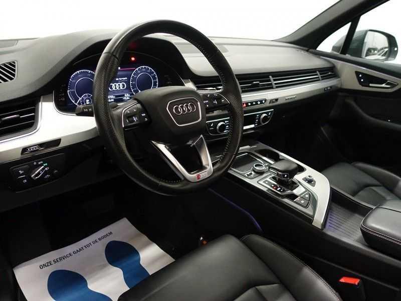 Audi Q7 3.0 TDI e-tron 374pk Quattro S-Line - Pano, Virtual Cockpit, Camera, Leer, Full! afbeelding 12