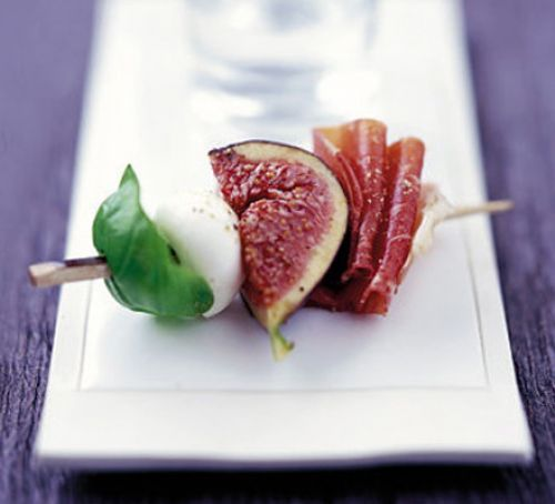 image of fig skewers