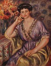 'Madame Joseph Durand-Ruel', by Pierre August Renoir in 1911
