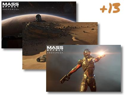 Mass Effect Andromeda theme pack