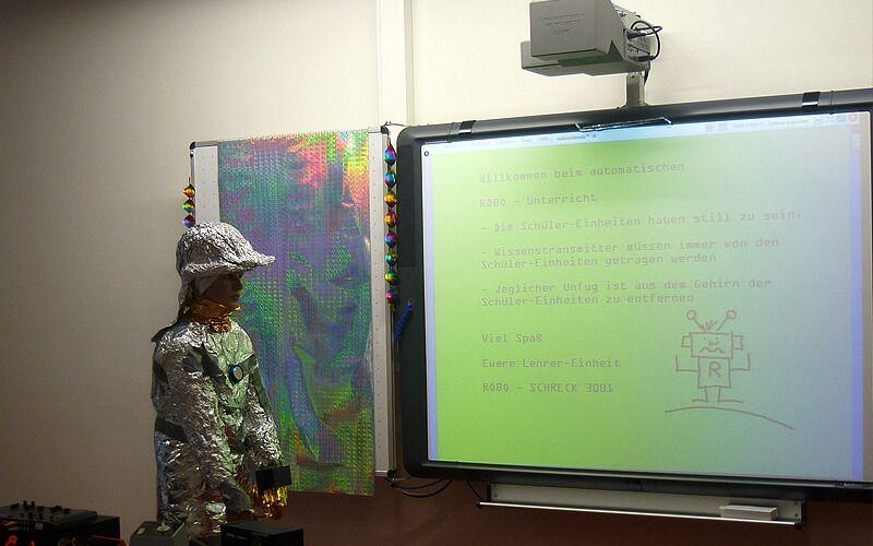 Roboterlehrer in der Zukunft