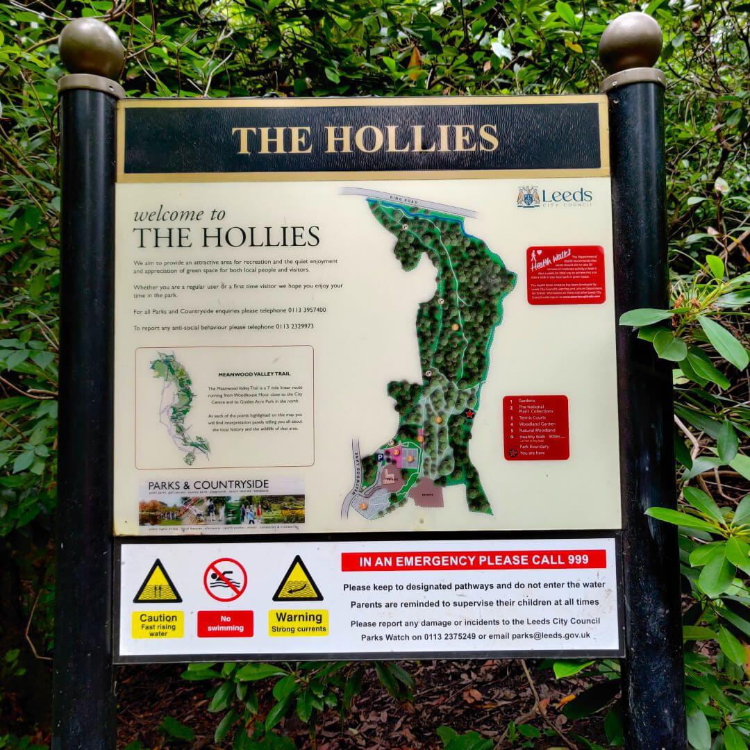 The Hollies Leeds Sign