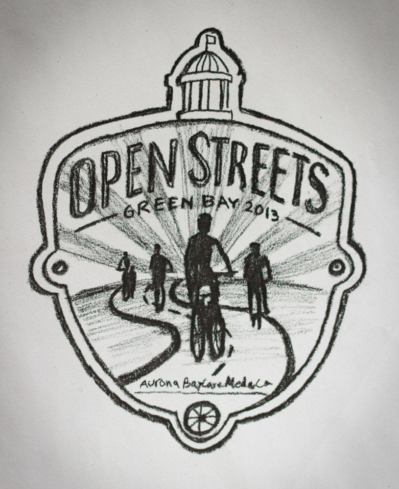 Open Streets Green Bay Logo 5