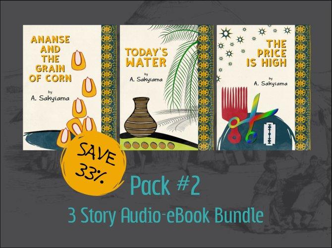 Pack #2: 3 Story Audio-eBook Bundle