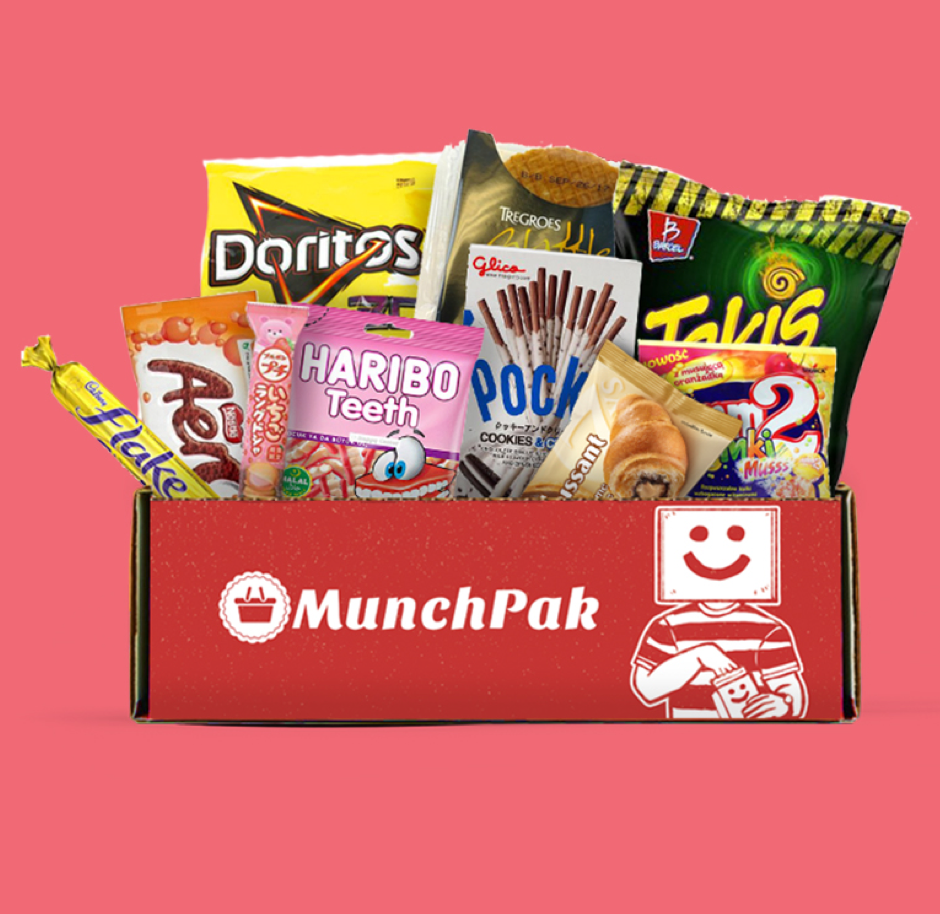 box of snack foods