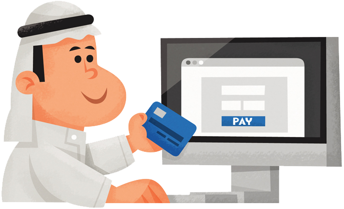 Accept online payments in the Middle East