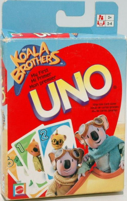 Koala Brothers My First Uno