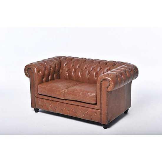 The Chesterfield Brand Vintage 2zitsbank Bruin 550x550 Bruin
