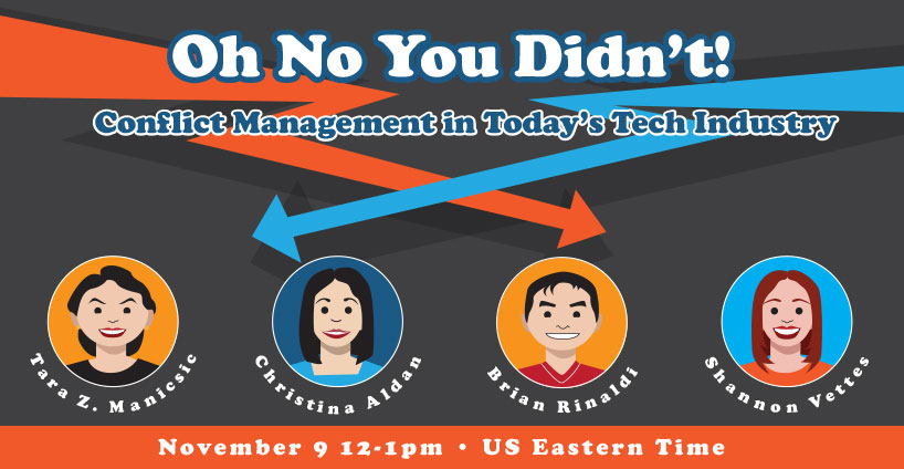 Banner for Oh No You Didn't: Conflict Management Panel