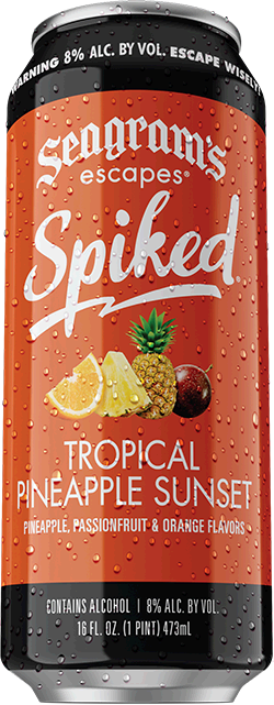 Spiked Tropical Pineapple Sunset