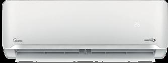 Minisplit Midea Aurora panel frontal