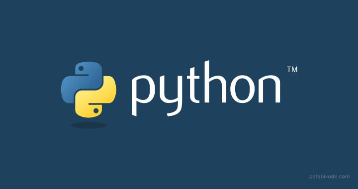Belajar Pemrograman Python untuk Pemula