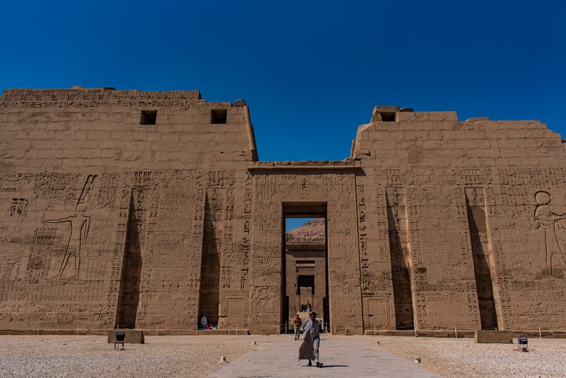 Mortuary Temple of Ramesses III at Medinet Habu