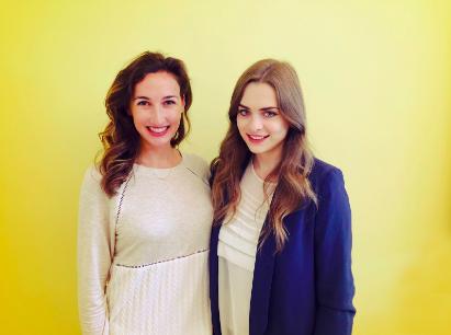 Brielle Rajkovich and Isabelle Bicaci