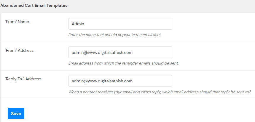 How to create an email template