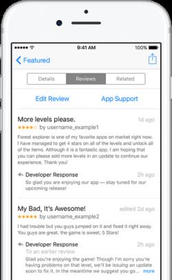 App Developer Review Responses