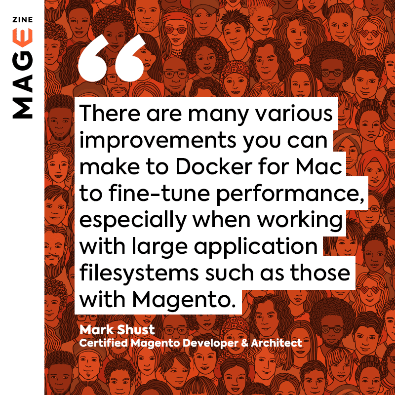 A quote by Mark from MageZine, 2019