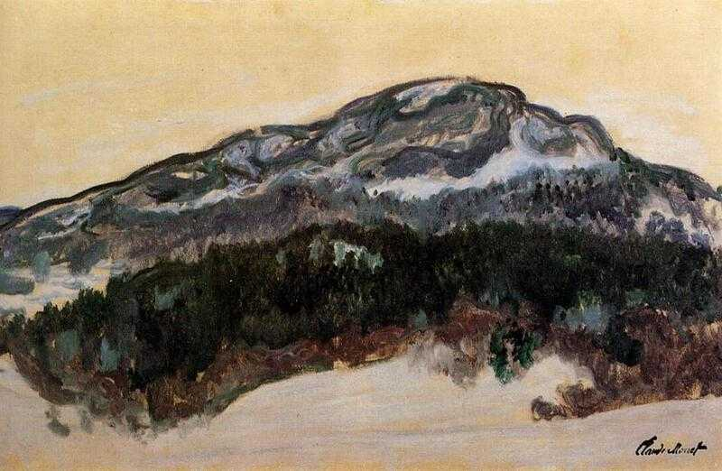 Another work from the series 'Mount Kolsaas' by Claude Monet (1895)