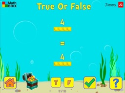 Compare a number to a number sentence (addition only) Math Game
