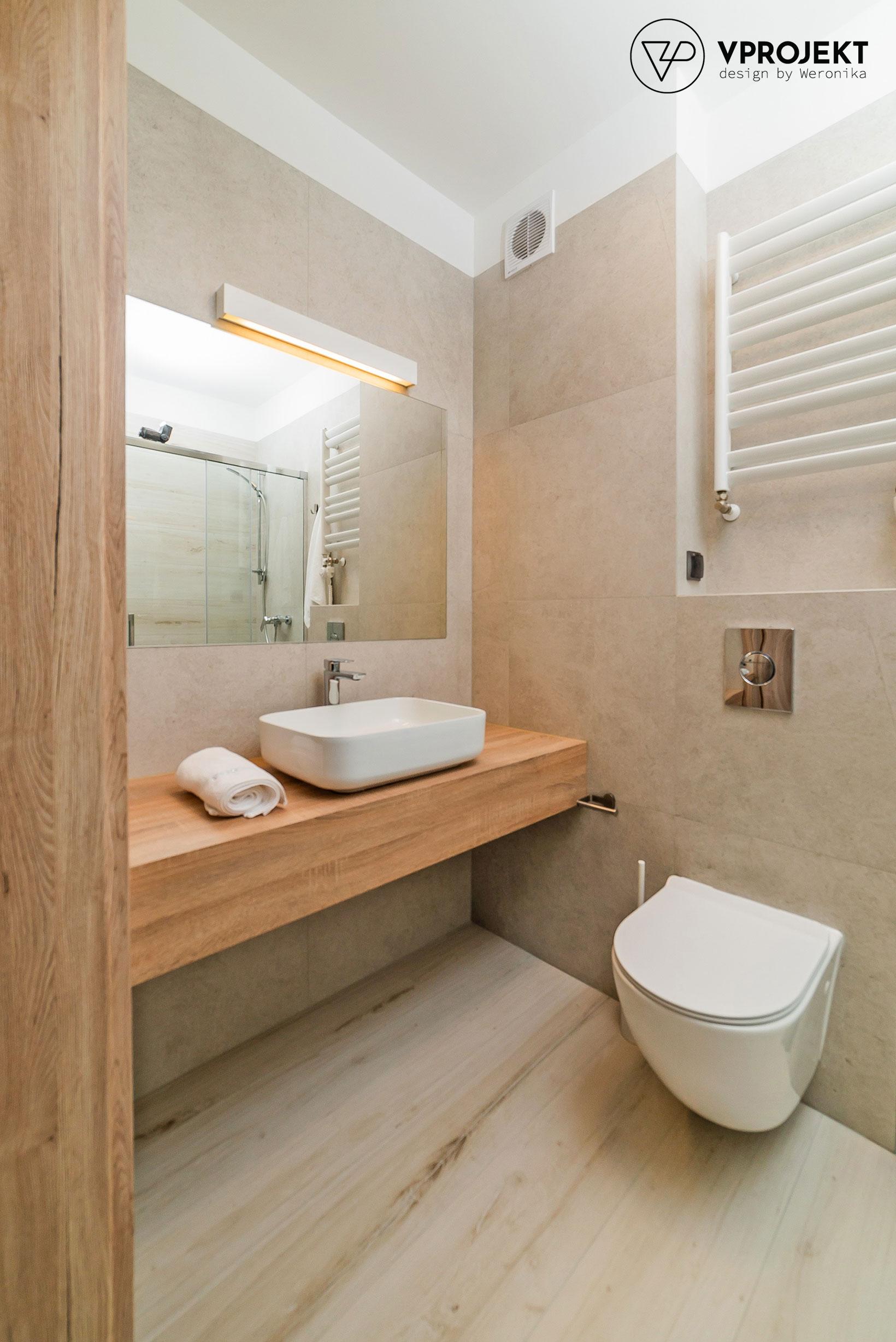 Wnętrze łazienki