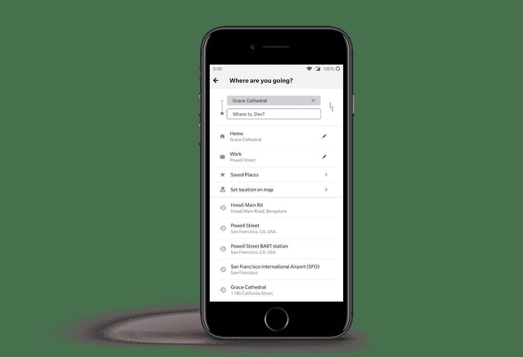 Roade Search Screenshot