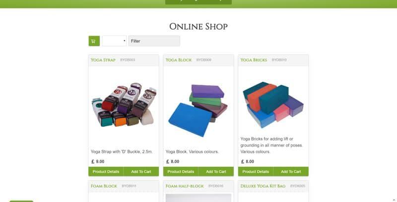 Barley Yoga Online Shop