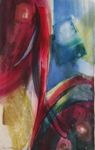 "Dainis Gudovskis, Latvia. ""Colours 1-5"" (five pieces series) 2003. Water colour, 79x100cm"