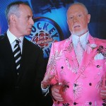 """Actually I'm wearing pink for all the pinkos out there that ride bicycles and everything. I thought I'd get it in. What'd ya expect, Ron MacLean, here? To come here?"" Don Cherry Dec 7/2010"