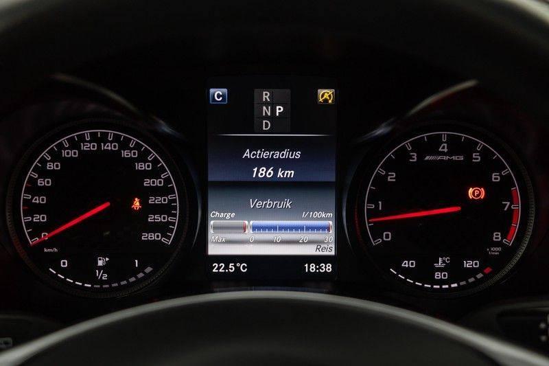 "Mercedes-Benz GLC GLC43 AMG 367pk 4Matic Panoramadak Luchtvering Nightpakket Distronic Keyless Burmester Sportleder+Memory Carbon AmbientLight ComandOnline 21"" Parktronic 360Camera Pdc afbeelding 22"