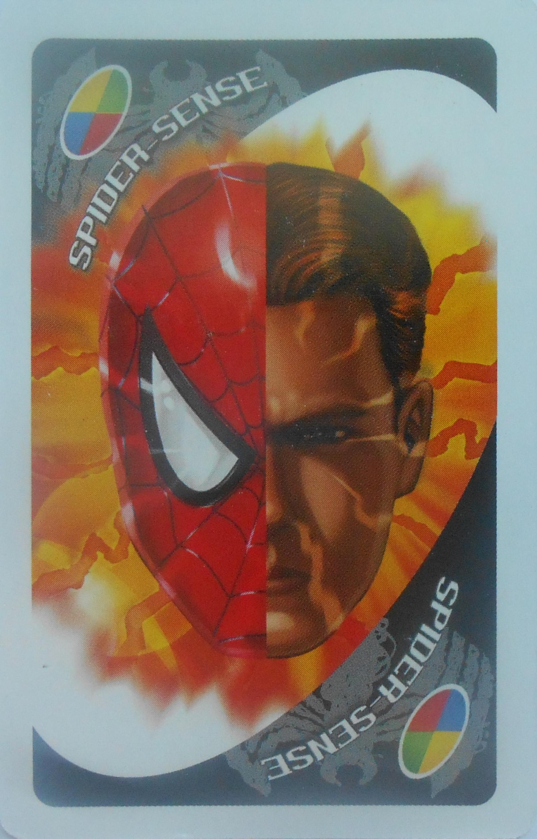 Spider-Man Spider Sense Uno (Spider Sense Card)