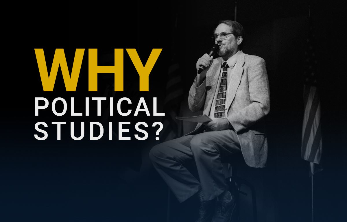 Why Political Studies?