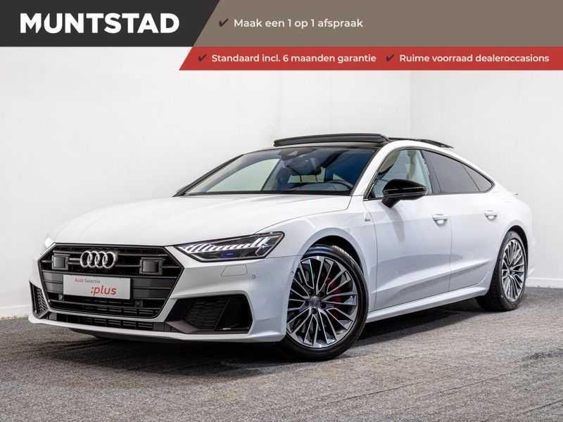 Audi A7 Sportback 55 TFSI e quattro Competition | 2 x S-Line | Head-Up Display | B&O sound | Assistentie City- en Tour | Matrix LED | Trekhaak | Verlengde garantie tot 2025