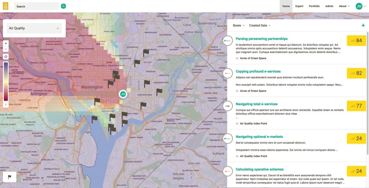 Map Based App