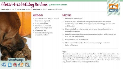 Holiday Recipe: Gluten-Free Bonbons