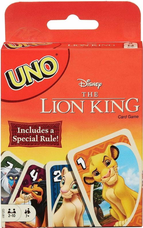 Lion King Uno