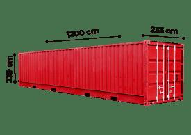 TrawlFeet - Container 40 Feet \<