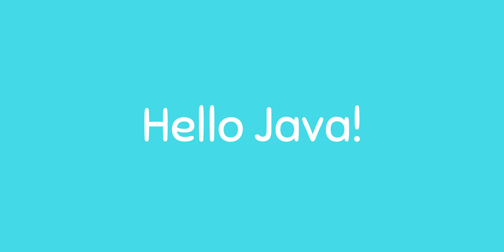 Beginning Java with program class, main function and comments